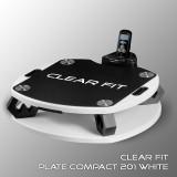 Виброплатформа Clear Fit Plate Compact 201 White