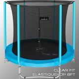 Каркасный батут Clear Fit ElastiqueHop 8Ft