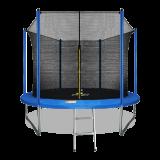 ARLAND Батут  10FT с внутренней страховочной сеткой и лестницей (СИНИЙ)