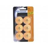 Мячики для н/тенниса DONIC JADE 40+, 6 штук, оранжевый