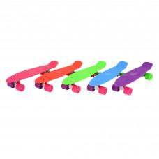 "EVO Kids 22"" мини-скейт пластиковый"