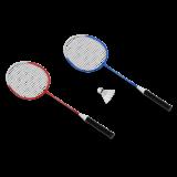 KRAFLA Fun 100 Набор для бадминтона: ракетка (2 шт), волан