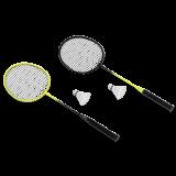 KRAFLA Fun 300 Набор для бадминтона: ракетка (2 шт), волан (2 шт)
