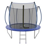 EVO JUMP Internal 8ft (Blue) Батут  СКЛАДНОЙ с внутренней сеткой и лестницей, диаметр 8ft (синий)