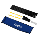 KRAFLA N-C300 Сетка для бадминтона со стойками